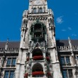 Munich town hall main spire — Stock Photo #2097175