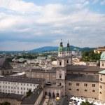Salzburg panoramic cityscape — Stock Photo