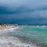 Mediterranean Sea and Can Picafort beach — Stock Photo