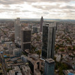 Frankfurt downtown — Stock Photo