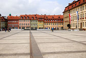 Small square in Bamberg, Bavaria — Stock Photo
