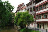 Bamberg - german small Venice — Stock Photo