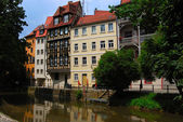Tranquil cityscape - Bamberg — Stock Photo