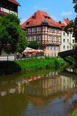 Calm cityscape in Bamberg — Stock Photo