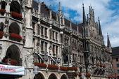 Münih Belediye Binası, Bavyera — Stok fotoğraf