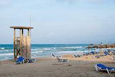 Stranden på Mallorca på kvällen — Stockfoto