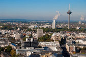 Cologne tower and cityscape, Germany — Stock Photo