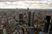 Frankfurt downtown — Stock Photo