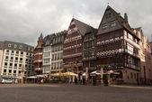Medieval buildings in Frankfurt — Stock Photo