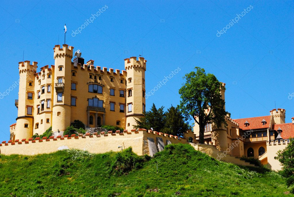 Fort near Neuschwanstein castle in southern Bavaria, Germany — Stock Photo #2095617