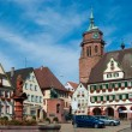 Stuttgart - Weil der Stadt square — Stock Photo #2100116
