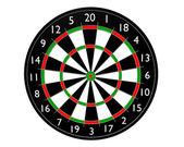 Target dart — Stock Photo