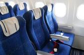 интерьер самолета — Стоковое фото