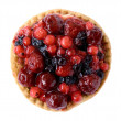 Red fruits pie — Stock Photo