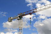 Wrecking crane — Stock Photo