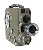 Old 8mm camera — Stock Photo