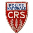 French police patch — Stock Photo