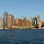 skyline van New york — Stockfoto