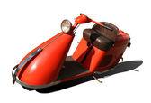 Pomarańczowy skuter — Zdjęcie stockowe