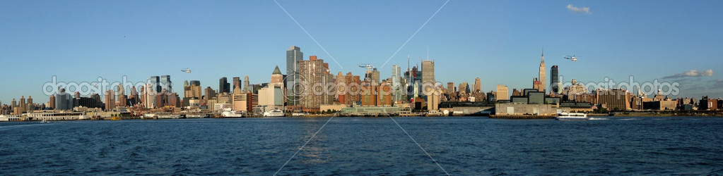 New York Skyline  — Stock Photo #2095049