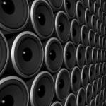 Speakers sphere — Stock Photo