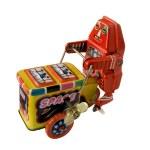 Three wheeler robot toy — Stock Photo