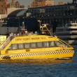 New york water taxi — Stock Photo