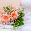 Wedding Rose bouquet — Stock Photo #2041265
