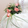 Wedding Rose bouquet — Stock Photo #2093729