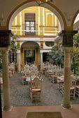 Una terraza en Andalucía — Foto de Stock