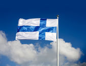 National flag of Finland — Stock Photo