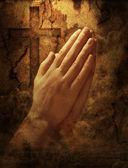 Oração — Foto Stock
