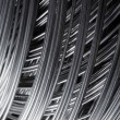 Stock Photo: Metallic wire