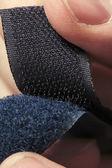 Hook-and-loop fastener aka velcro in closeup — Photo