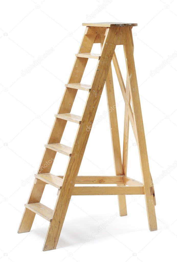 Как сделать деревянную стремянку