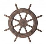 Boat steering wheel — Stock Photo #2112113