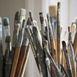 Artist's brushes — Stock Photo #2112205