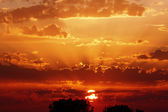 Magnificent Sunset Sky — Stock Photo