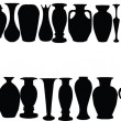 Vases collection — Stock Vector
