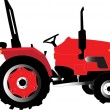 Tractor — Vetorial Stock #2112533