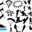 Royalty-Free Stock Vector Image: Extreme sport collection