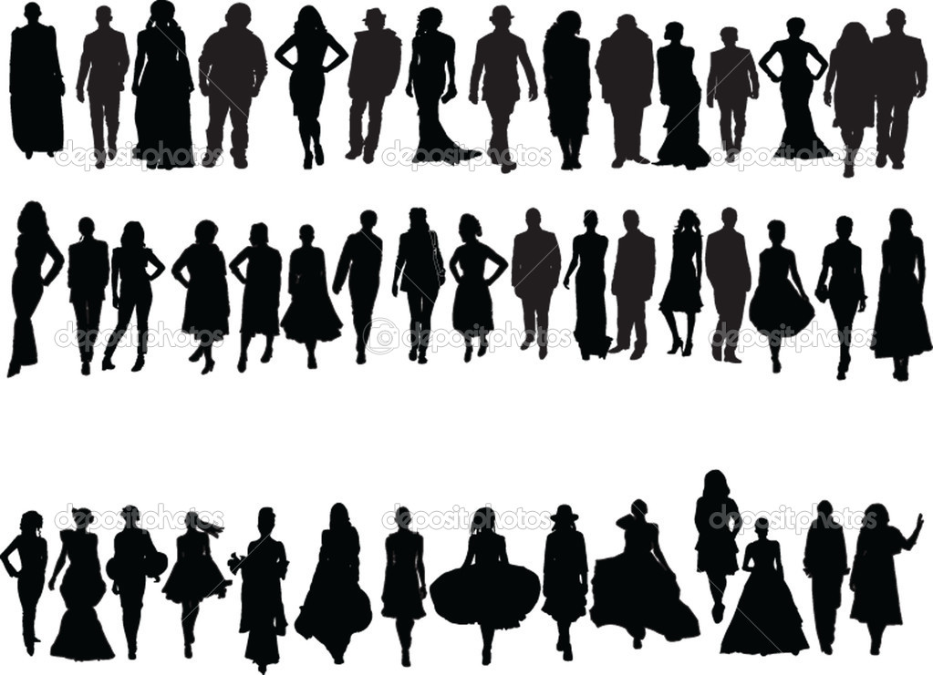 Fashion week collection - vector — Stock Vector #2127878