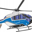 Stock Vector: Helicopter illustration