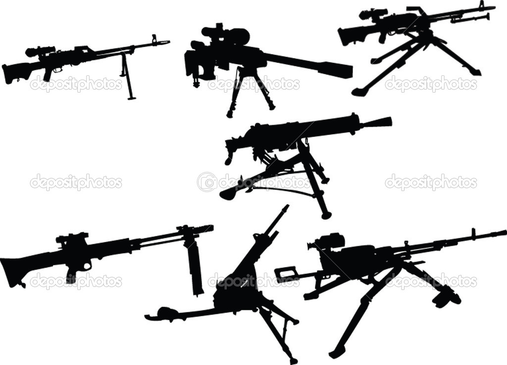 Machine Gun Icon Machine Gun Collection