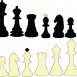 Royalty-Free Stock Vector Image: Chess collection