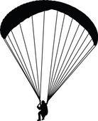 Paragliding — Stock Vector