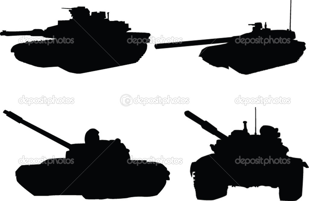 tanks collection - vector — Stock Vector #2179714