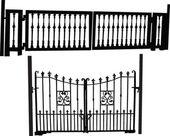 Gates collection — Stock Vector