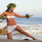 Polynesian Dancer — Stock Photo