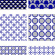 Royalty-Free Stock Vector Image: Repeating tile pattern